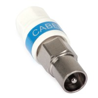 Cabelcon IECM-56 5.1 Male IEC Coax Plug