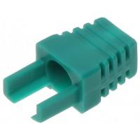 Interne kabel huls groen (RJ45 boot) voor RJ45 connector